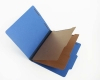 25 Pt. Pressboard Classification Folders, 2/5 Cut ROC Top Tab, Letter Size, 2 Dividers, Royal Blue (Box of 15)