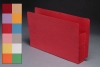"Color Full End Tab Expansion Pockets, Paper Gussets, Legal Size, 3-1/2"" Expansion (Carton of 50)"
