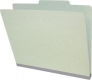 "Type III Pressboard Folders, Top-Tab, Letter Size, 2"" Expansion, No Divider (Box of 25)"