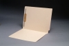 14 pt Manila Folders, Full Cut 2-Ply End Tab, Letter Size, Fastener Pos #1 (Box of 50)