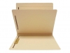 14 Pt. Manila Classification Folders, Full Cut Top Tab, Letter Size, 1 Divider (Box of 25)