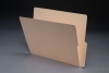 11 pt Manila Folders, 1/2 Cut Bottom 2-Ply End Tab, Letter Size (Box of 100)
