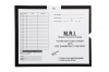 M.R.I., Black - Category Insert Jackets, System II, Open End - 14-1/4&#34 x 17-1/2&#34 (Carton of 250)
