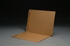 17 pt Brown Kraft Folders, SFI Compatible, Full Cut End Tab, Letter Size, Fastener Pos #1 & #3 (Box of 50)