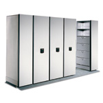 Spacesaver High Density Shelving