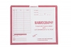 "Mammography, Pink #190 - Category Insert Jackets, System II, Open Top - 10-1/2"" x 12-1/2"" (Carton of 250)"